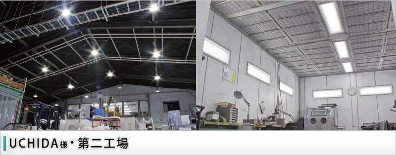 高天井(体育館・工場)/UCHIDA 第二工場 様